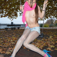 Geiles Outdoor Shooting in 24mp Nylons - Porn-Kitty18
