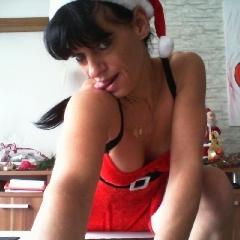 sexy weihnachtskostüm - heissediana
