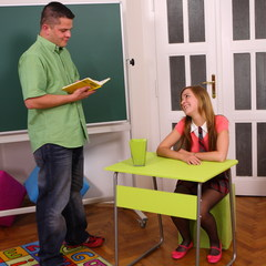 Sex in der Schule HQ - Dominika18