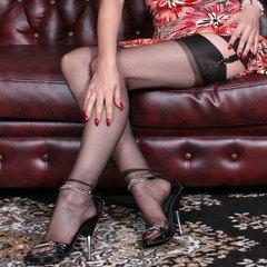 Vintage Lady in Barefoot Nylons! - Juicy-Julie
