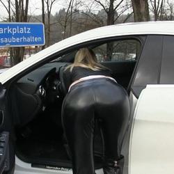 Rastplatz Quickie - Fick und Facial an d - Lara-CumKitten