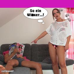 Mein Stiefpapi ist ein Wixer..! - Lollipopo69