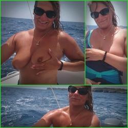 Nackt Motorboot Fahren. - SweetSusiNRW