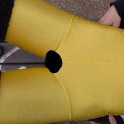 Yellow Cameltoe - Izzy-Mendosa