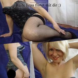 Reife Frau flirtet mit dir :) - ReifePaula