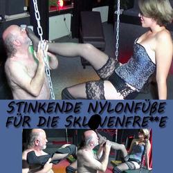 STINKENDE NYLONFÜßE FÜR DIE SKLAVENFRESS - GypsyPage