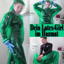 Dein LATEX-Girl im HAZMAT - GypsyPage
