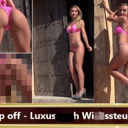 Rip off - Luxusarsch Wichssteuer! - seXXygirl