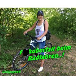 Ficküberfall beim Radfahren...! - Lollipopo69