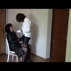 My horny bitch, part one: Cuddling in a  - bondageangel