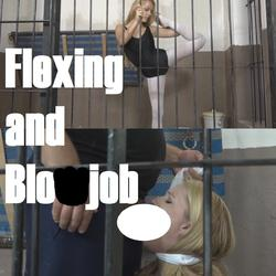 Flexing and Blowjob - lolicoon