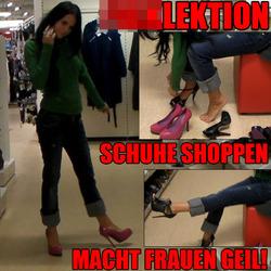 Ficklektion: Schuhe Shoppen macht Frauen - BANG-BOSS