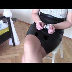 Test my new handcuffs - bondageangel