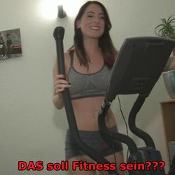 Fitness oder doch lieber FICKness? :-) - Lia-Louise