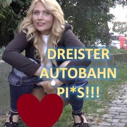 Dreister Autobahn Piss - TatjanaYoung