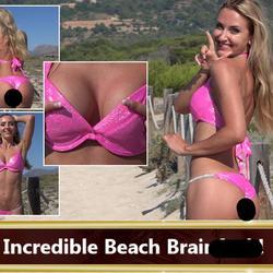 Incredible Beach Brainfuck! - seXXygirl
