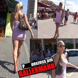 PORNOEXZESS AM BALLERMANN - aische-pervers