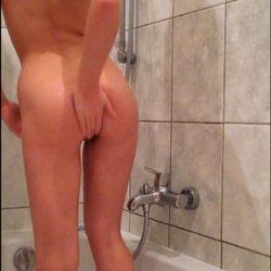 Schau mir beim Duschen zu - Lucy-Cat