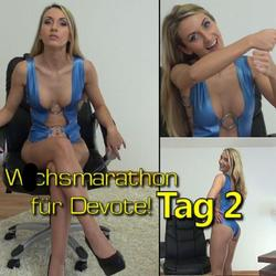 Wichsmarathon für Devote!! Tag 2 - seXXygirl