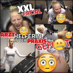 XXL FACIAL - Junge Arzthelferin mitten i - Lara-CumKitten