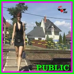 Public Sex am Gleis - Popp-Sylvie