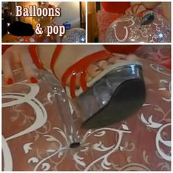 Ballons - blow and pop - - HornyCouple69