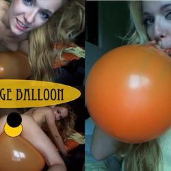my orange balloon - lolicoon