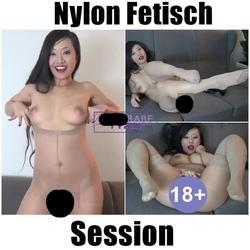 Nylon Fetisch Session - PornbabeTYRA