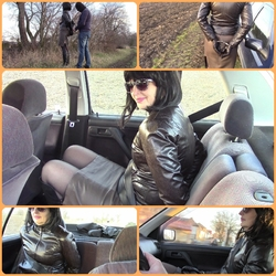 Seat belt and handcuffs IV. - bondageangel