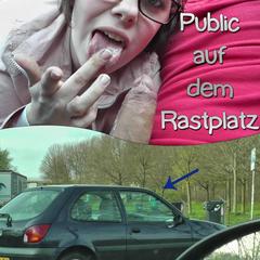 Public auf dem Rastplatz - Lilly-Loveshot