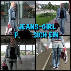 Shopping Piss - JEANS GIRL pisst sich ei - Lara-CumKitten