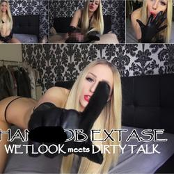 HANDJOB EXTASE! WETLOOK meets DIRTY TALK - Lucy-Cat