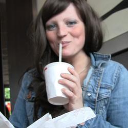 Sperma Snack im Burger Laden - BANG-BOSS