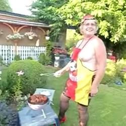 grillen zur WM 2014 - LadyKiki