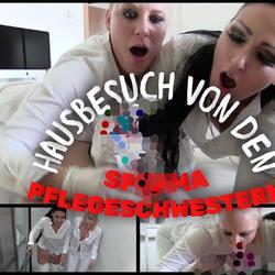 Häusliche Abspritzpflege - Stangenfieber - Lara-CumKitten