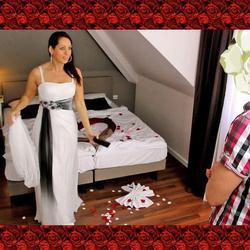 Schwanger, Hochzeits-Vorcheck mit Schwag - Annabel-Massina
