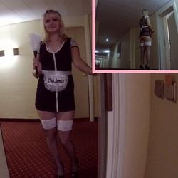 Mein neuer Job als Zimmermädchen im Hote - xSweetMichellex
