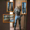 Jeans eingepisst + Gummistiefel - NiciDeLuxe