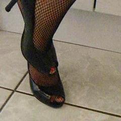 Fussfetisch, meine Füsse in Heels - sexandlady6969