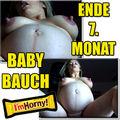 BABYBAUCH 7. MONAT - blonde-stute